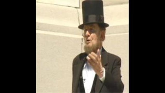 Gettysburg 150th: Jim Getty as President Lincoln