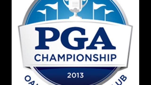 Golf Balls on Display as PGA Championship Approaches