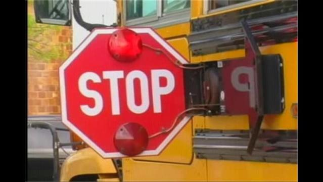 One Taken to Hospital in School Bus Accident