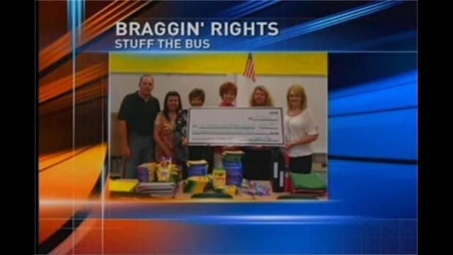 BRAGGIN' RIGHTS: Allegany Co. Stuff the Bus