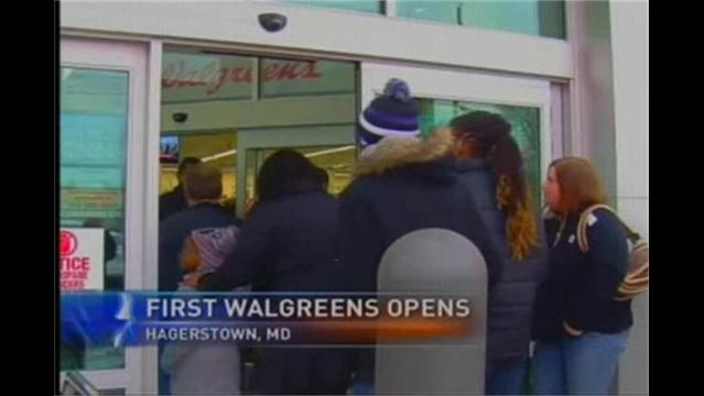 First Walgreens Opens in Hagerstown