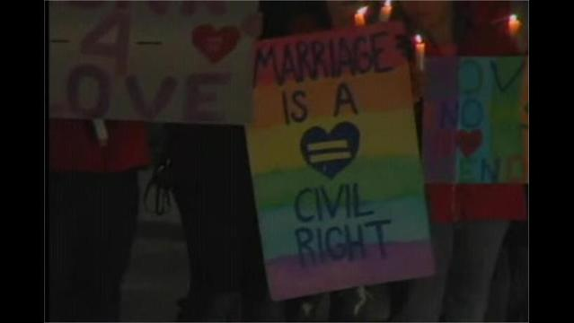 West Virginia Residents Hold Rally for Same Sex Marriage