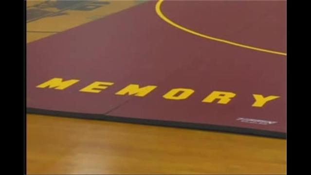 Brunswick Gets New Wrestling Mat in honor of Rich Bartholomew