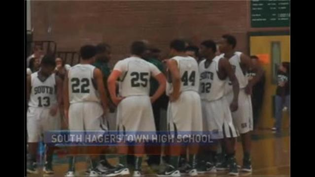 Williamsport at South Hagerstown Boys Basketball 1/27