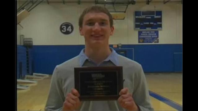WHAG's Male Student Athlete of the Month: Benjamin Seibert