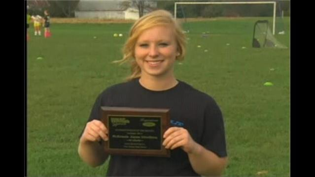 McKenzie Divelbiss: Hagerstown Ford/WHAG Student Ath. October