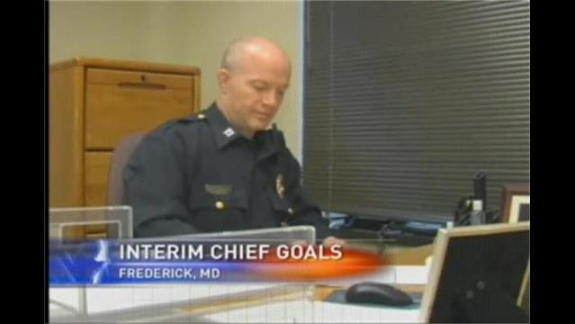 Interim Police Chief Already Has Goals for Frederick