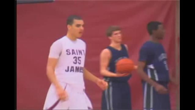 St. James vs Flint Hill Boys Basketball