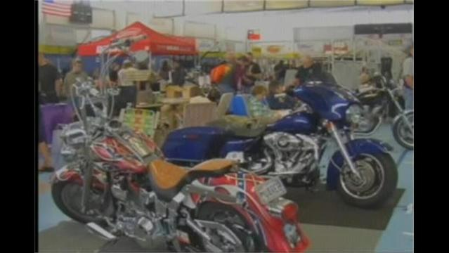 Bike Lovers Rev Up For The Motorcycle Expo