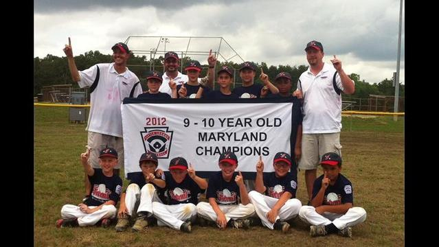 Federal wins Maryland 9-10 LL State Championship