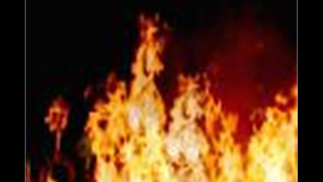 Large Brush Fire in Boonsboro