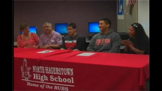 Hubs Sign With Frostburg