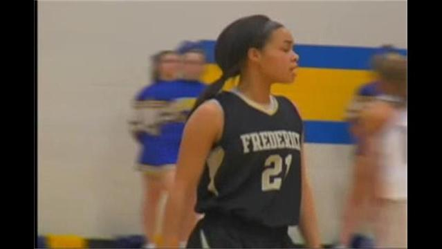 Frederick's Lauren Tolson Hits the 1,000 pt Mark, Cadets beat Lions