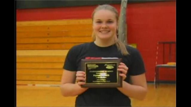 Peyton Wallech: Hagerstown Ford/WHAG Student Athlete of Nov.