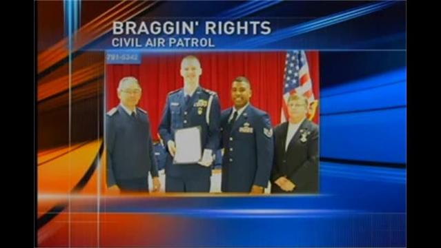 BRAGGIN' RIGHTS: Kyle Lahr Stands Tall in Uniform