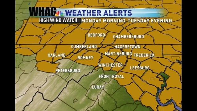 High Wind Watch & Flood Watch Issued In Anticipation of Hurricane Sandy