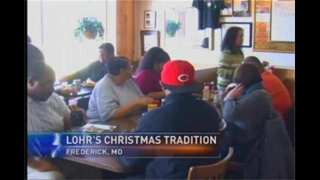 Family Restaurant Serves Hot Meal to Say 'Thank You'