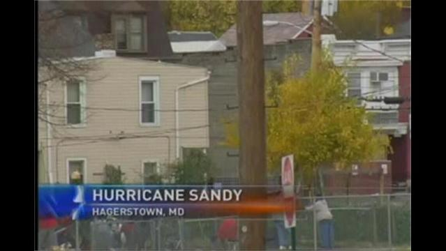 Maryland Residents and Officials On Standby For Hurricane Sandy