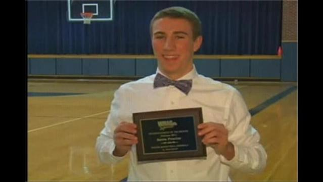 Kevin Proctor: WHAG Male Student Athlete for February