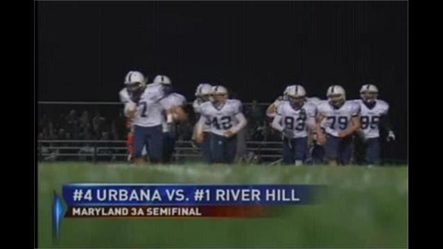 Urbana's Run in the 3A Playoffs Ends, Falling to River Hill