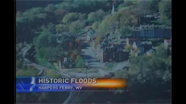 Harpers Ferry National Historic Park Famous for Floods
