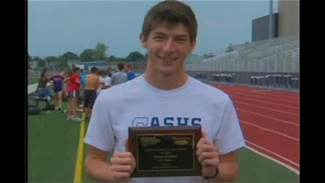 Ryun Holder, Hagerstown Ford/WHAG Male Student Athlete for May