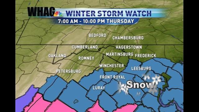 Winter Weather Alert: Bryan's Wednesday Evening Forecast: 1/16/13