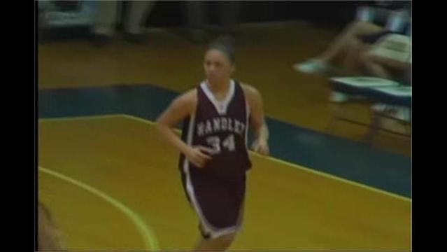 Handley at James Wood Girls Basketball 1/26