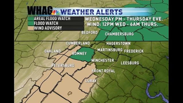 Severe Weather Possible Wednesday Afternoon & Evening