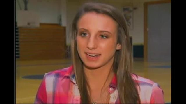 Eleanor Kent, Hagerstown Ford/WHAG Female Student Athlete Dec.