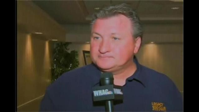 Interviews with WVU AD Oliver Luck, Coach Bob Huggins at Coaches Caravan