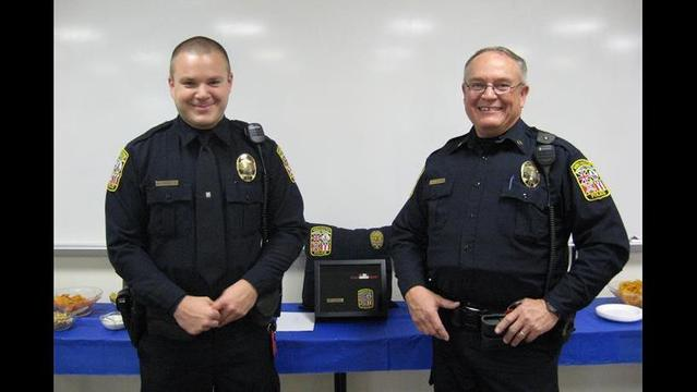 Officer Retires After 23 Years