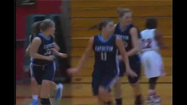 Catoctin at North Hagerstown Girls Basketball 1/27