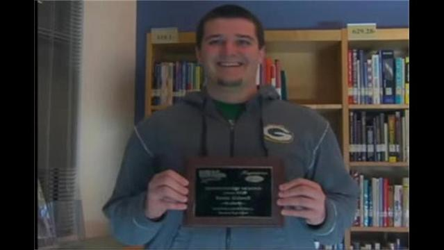 Kevin Kidwell, Hagerstown Ford/WHAG Male Student Athlete for Jan.