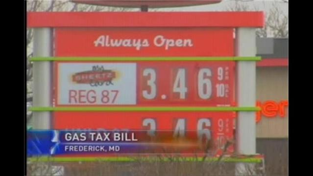 Senator Proposes Gas Tax Increase in Maryland