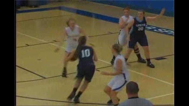 Catoctin vs. Clear Spring Girls Basketball 12/16