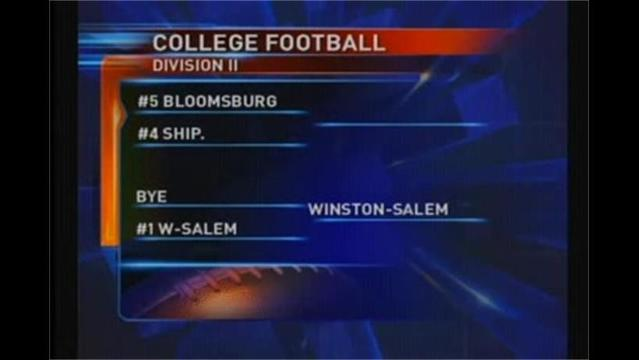 College Football: Ship a 4-seed, Shepherd a 6-seed in DII Playoffs