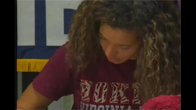 Volleyball: Christy Commits to Virginia Tech