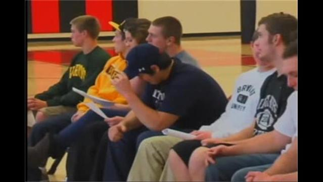 7 Linganore Lancers sign to play college football
