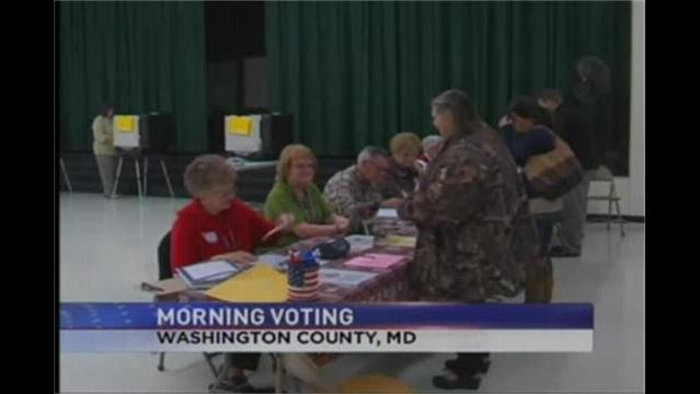 Voters Hit the Polls Early Tuesday Morning