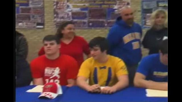 Walkersville Football Signings