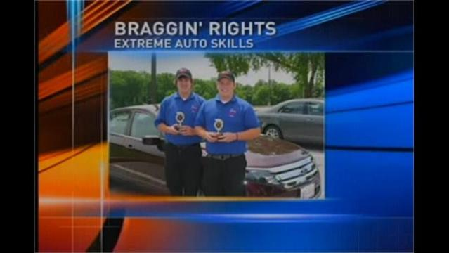 BRAGGIN' RIGHTS: Brandon Barnett & Travis Jewell