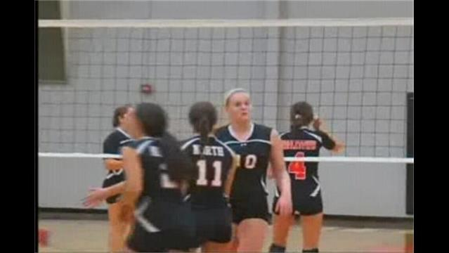 HS Volleyball: North Knocks off Middletown, 3-0