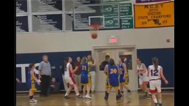 Broadfording Christian Academy vs. Heritage Academy Girls BBall 2/24