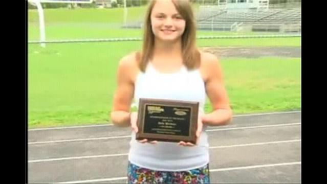 Bria Welker, Hagerstown Ford/WHAG Female Student Athlete of June