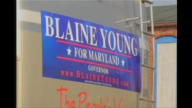 Md. Governor Hopeful Blaine Young Adds the 'Blaine Bus' to His Campaign