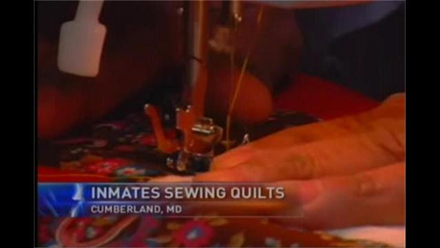 Prison Inmates Learn to Quilt