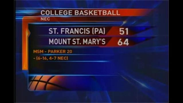 Mount defeats St. Francis (PA), stays alive in NEC Playoff race