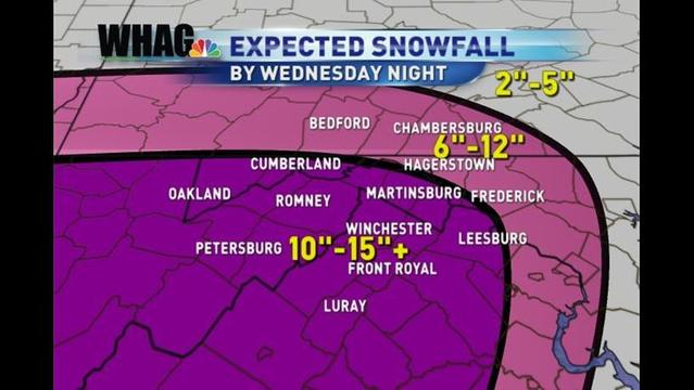 Winter Weather Alert: Bryan's Tuesday Evening Forecast: 3/5/13