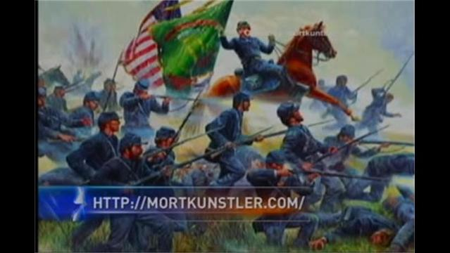 NEWSMAKER: Mort Kunstler Paints the Civil War